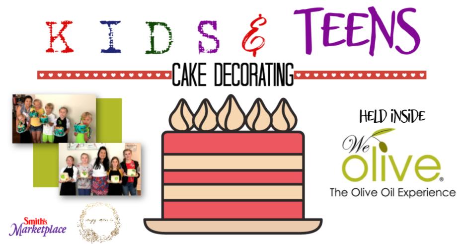 kids cake class banner